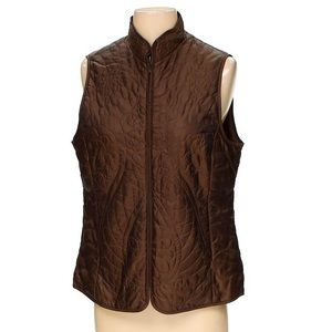 Coldwater Creek Quilted Vest